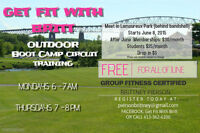 FREE FOR JUNE! Outdoor Bootcamp Circuit Training