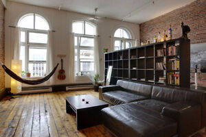 Beautiful Loft In the heart of the historic Old Port of Montreal