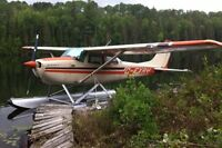 Cessna 172K 1968 float plane