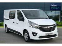 2018 Vauxhall Vivaro 2900 SPORTIVE CDTI Panel Van Diesel Manual