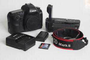 Canon EOS 5D Mark II (Body Only) with Battery Grip BG-E6