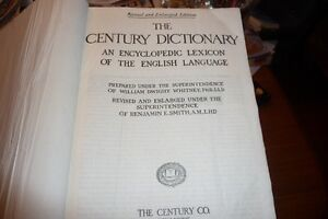 1914 Century Dictionarywith stand Kingston Kingston Area image 2