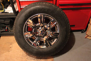 Goodyear wrangler sr-a on stock f150 rims