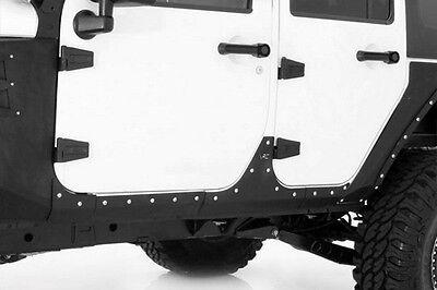 2007-2017 Jeep Wrangler Unlimited XRC Armor Body Cladding Kit