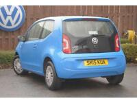 2015 Volkswagen UP 1.0 (60PS) Move up! Petrol blue Manual