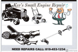 Small Engine Repair Outboard motors, Lawnmowers, Chainsaws etc..