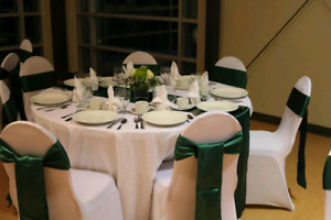 Location nappes,chaises,rechauds,table,centre table,