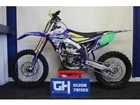 2017 Yamaha YZ250F | Low Hours | Yellow Plastics Included