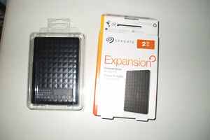 Seagate  Portable Drive  2 TB...Brand new...  Never used Cambridge Kitchener Area image 3