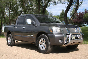 2007 Nissan Titan LE/Leather/Roof $14,398 Edmonton Edmonton Area image 1
