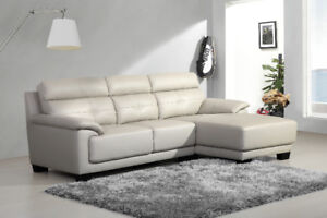 Warehouse Sales$$999 For Brand New Real Leather Sectional Couch