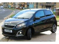 2015 Peugeot 108 1.2 VTi PureTech Allure 5dr Hatchback Petrol Manual