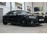 Audi S5 4.2 V8 Quattro, 57 Reg, 76k, Black, Red Leather, Massive Spec & More!!!