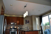 Professional Pot light installation with 5 years warranty