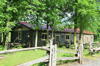 Beautiful bungalow in Forest Setting $1,500/mt incl utlities
