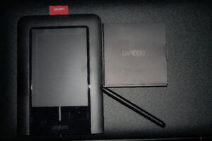 Bamboo tablet and pen