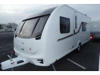 2016 SWIFT CHALLENGER 570 FIXED BED END WASHROOM VIEWING A MUST