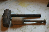 Antique Hammer and Mallet