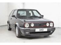 VW VOLKSWAGEN GOLF MK2 G60 GTI 3DR EDITION ONE BLACK 1991 LHD ONLY 1 OWNER!