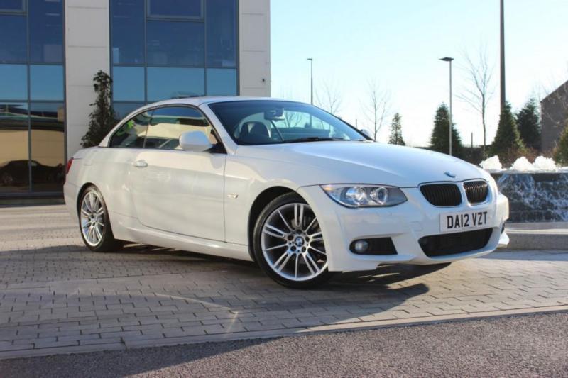 2012 12 BMW 3 SERIES 320D M SPORT 2.0 2D DIESEL