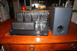 Sony DVD player and surround sound audio