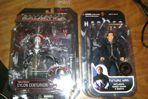 Battle Star Galactica Cylon and Future Hiro SDCC Exclusives Cambridge Kitchener Area image 1