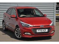2015 Hyundai i20 1.2 Premium (84 PS) Petrol red Manual
