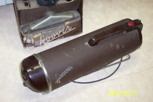 HOOVER TANK VACUUM CLEANER – ANTIQUE, FUNKY
