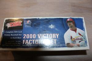 2000 Upper Deck Victory Baseball Factory Set - Sealed