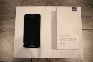 Samsung Galaxy S6 64GB Black Sapphire + Accessories West Island Greater Montréal image 2