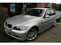 2007 (57) BMW 320d SE Silver Automatic Diesel 4 Door Full Service History