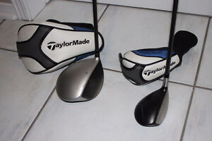 Taylormade mini SLDR-S driver and Jetspeed 5 rescue club (RH)