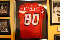 2009 Calgary Stampeders Gray Cup Copeland Autograph Jersey