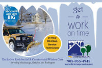 First Impression Exclusive Snow Removal - BOOK NOW!