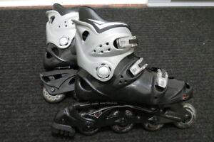 Patins à roues alignées pour hommes (size 9 aux chaussures)