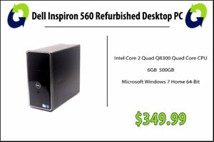Dell Inspiron 560 Refurbished - 360 Computers