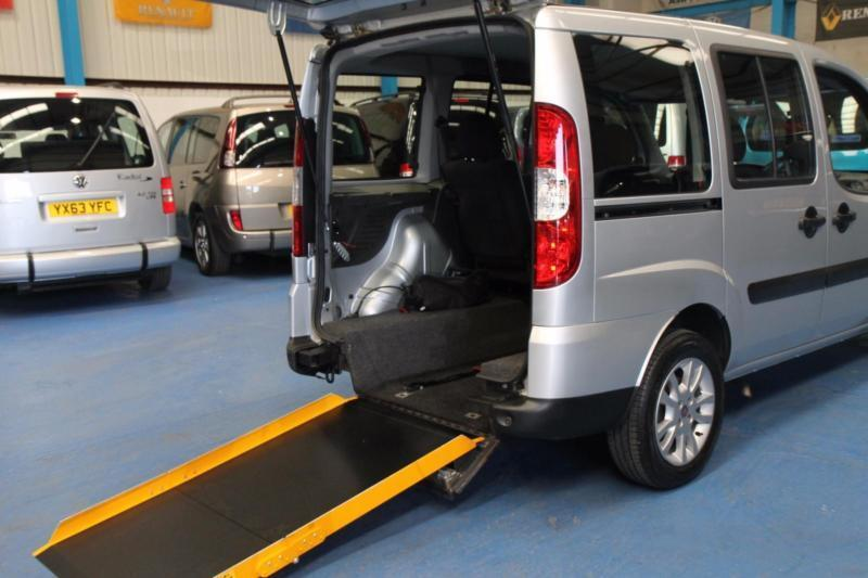 fiat doblo wheelchair car disabled accessible vehicle mobility van