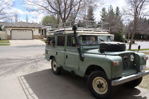 Land Rover Series 2A with Mercedes Diesel Conversion