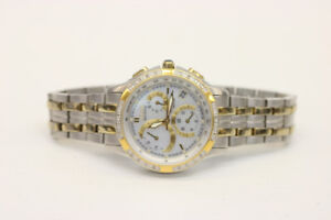 Ladys Citizen Eco-Drive Mother of Pearl Watch H504 (#15421)