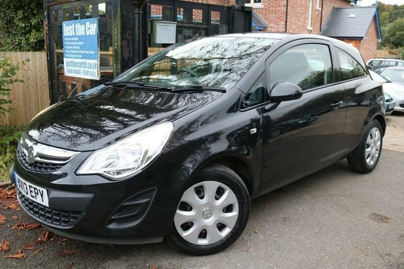 2013 Vauxhall Corsa 1.4I EXCLUSIV AC Black FSH Low Miles Auto Finance Available