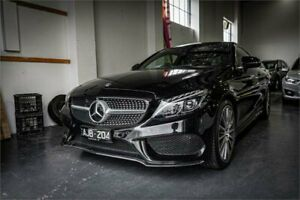 2016 Mercedes-Benz C300 205 MY16 Obsidian Black 7 Speed Automatic Coupe Fyshwick South Canberra Preview