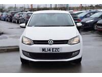 2014 VOLKSWAGEN POLO Volkswagen Polo 1.2 Match Edition 3dr