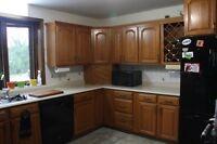 Kitchen Cupboards, Oak