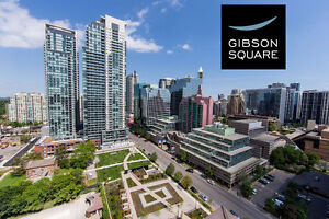 2 Bedroom Condo for Rent -Gibson Square Yonge & Sheppard Toronto