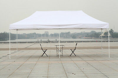 Canopy 10x20 Commercial Fair Shelter Car Shelter Wedding Pop Up Tent Heavy (10 X 20 Car Canopy)