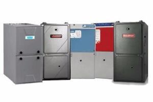 60,000 BTU Gas Furnace installed with 10 Year Warranty $49.99/mo