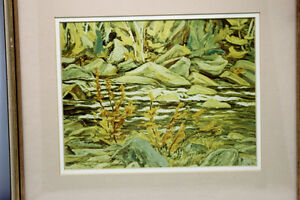 """The Agawa River""  by A.Y. Jackson from THE GROUP OF 7 Artist Kingston Kingston Area image 2"