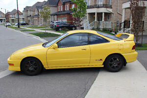 2000 Phoenix Yellow Acura Integra Type R #00-0854