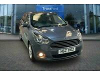 2017 Ford KA+ 1.2 85 Zetec 5dr- Voice Control System, Bluetooth, Speed Limiter,