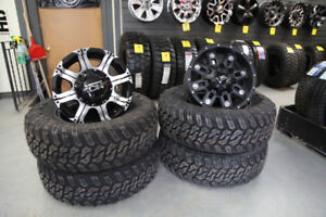 """16"""" JEEP WHEEL AND TIRE PACKAGE!!! TRURO"""
